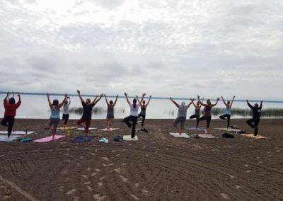 Sandy Point Beach Yoga